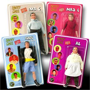 Happy Days 8 inch action figures Series 2