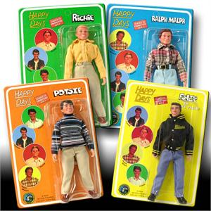 Happy Days 8 inch action figures Series 4