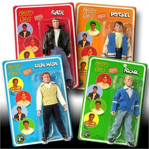 Happy Days 8 inch action figures Series 1