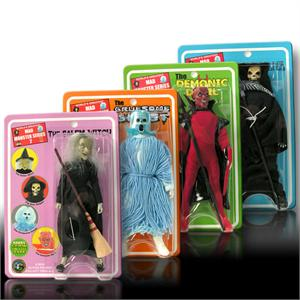 Mad Monsters 8 inch action figures Series 2 (2005)