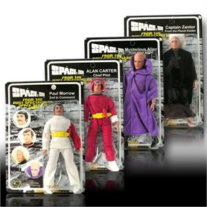 Space 1999 8 inch action figures Series