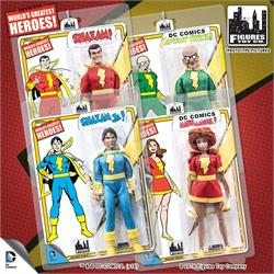 Shazam Retro 8 Inch Action Figures Series 1