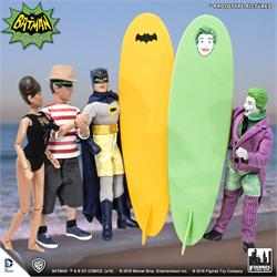 Batman Classic 1966 TV Series Retro Action Figures: Surfing Series