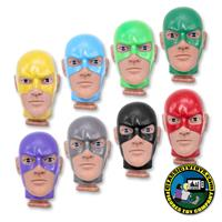 Custom 8 inch Superhero Roto Molded Heads
