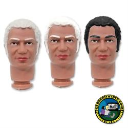 Custom African American Jack 8 inch Roto Molded Heads