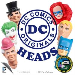 DC Comics Action Figure Heads Only
