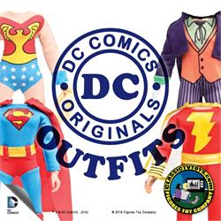 DC Comics Action Figure Outfits Only