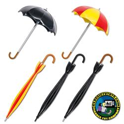 Umbrellas & Canes for 8 inch figures