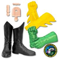 FTC Superhero Molded Glove Hands & Boot Feet