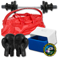 Duffle Bags & Boxing Gym Items for figures
