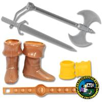 Barbarian Accessories for 8 inch Figures
