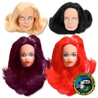 Custom Female 8 inch Roto Molded Heads