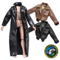 Leather Jackets for 8 inch figures