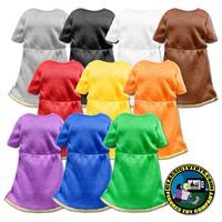 Colored Tunics for 8 inch figure