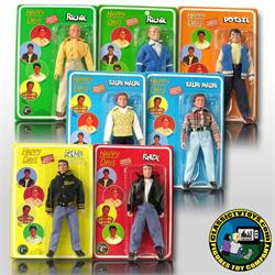 Happy Days Set of 7 Different Figures Deal