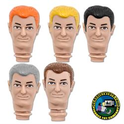 Bruce 8 inch Roto Molded Heads