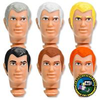 Peter 8 inch Roto Molded Heads