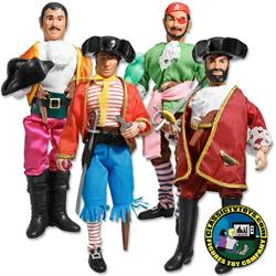 Super Pirates 8 inch Action Figures