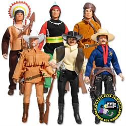 Western Heroes 8 inch Action Figures