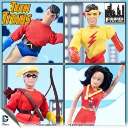 Teen Titans Retro 7 Inch Action Figures Series
