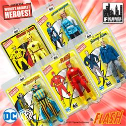 Flash Retro 8 Inch Action Figures Series 1