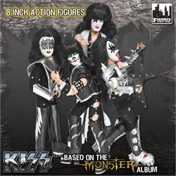 KISS 8 Inch Action Figures Series 4