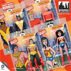 Super Friends 8 Inch Retro Action Figures