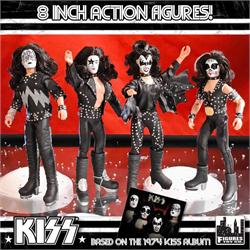 KISS Action Figures Series 2: Self-Titled Album