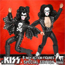 8 Inch Kiss Figures Series 2 Variants
