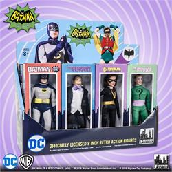 Batman Classic TV Series Boxed 8 Inch Action Figures