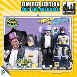 Limited Edition 8 Inch Batman Classic TV Series Multi-Packs