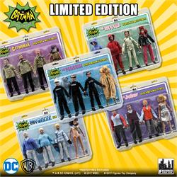 Batman Classic TV Series Henchman Four-Packs