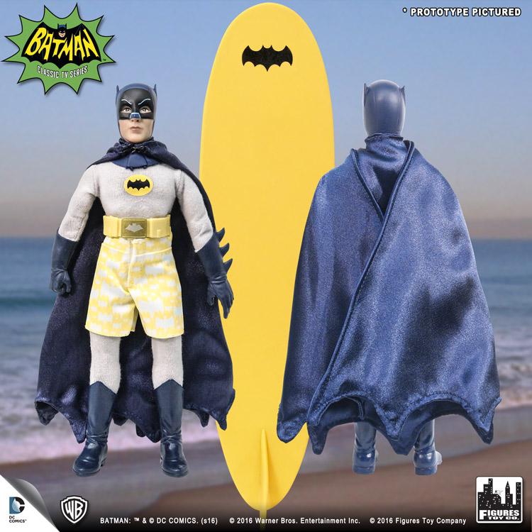 "Batman Classic 1966 Shame Tv Retro Figure 8/"" Series 3 Toy Company"