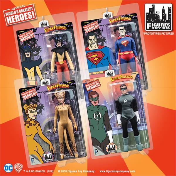 Loose in Factory Bag Wonder Woman Retro Action Figures Series 2 Wonder Woman
