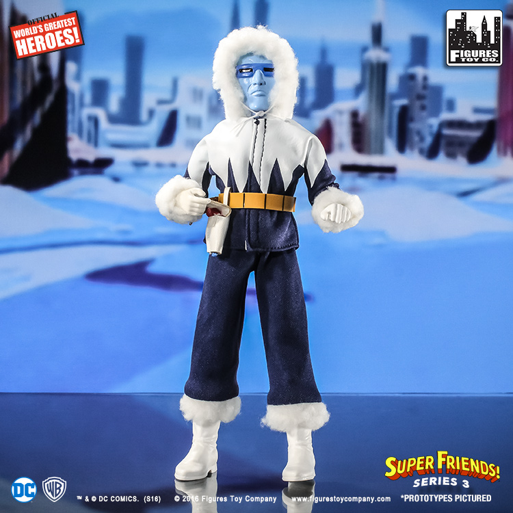 Super Friends Retro Action Figures Series 3: Captain Cold