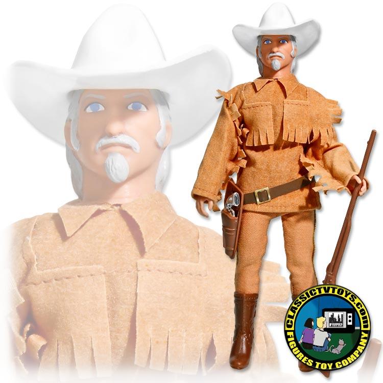 df18727d97d Western Heroes Series 1 Buffalo Bill Cody 8 inch figure