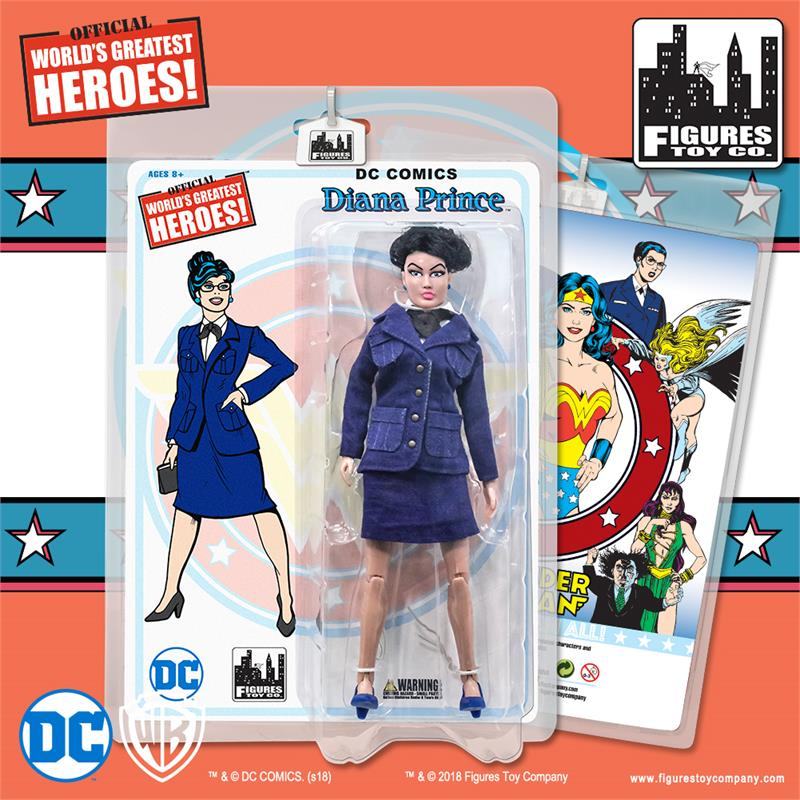 Like Toy Tv : Wonder woman retro inch action figures series diana