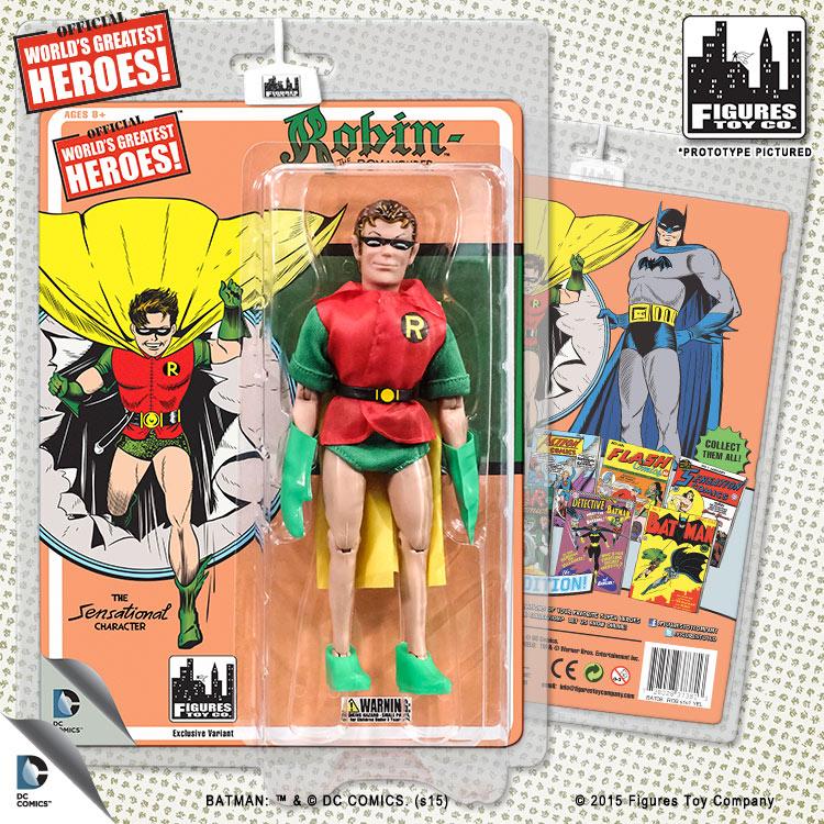Batgirl DC Comics Retro Style 8 Inch Figures First Apperances Series