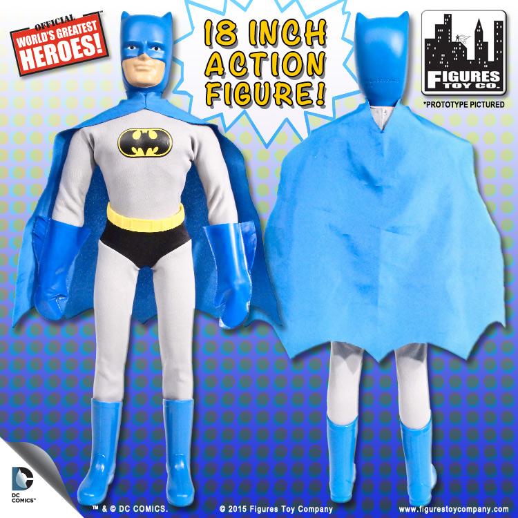 DC Comics Retro Style 8 Inch Figures Batman Retro Series 5 Set of all 4
