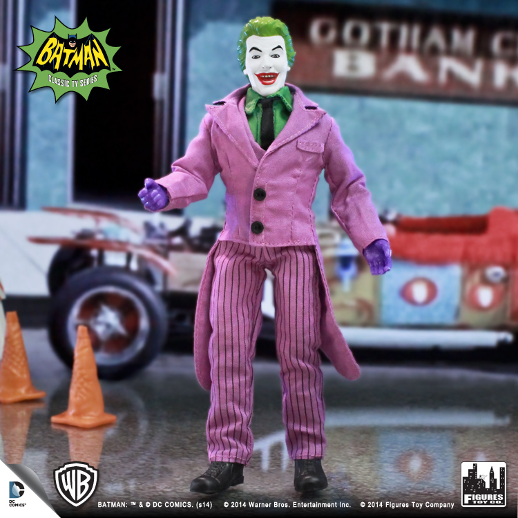 Retro 1966 TV Series 1 Action Figure Batman Joker