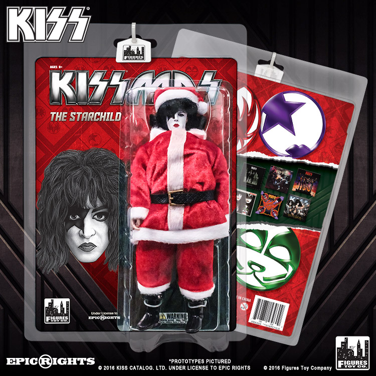 KISS 8 Inch Limited Edition Action Figure Christmas Series: The ...