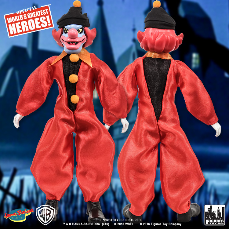 scooby doo retro 8 inch action figures series one ghost clown