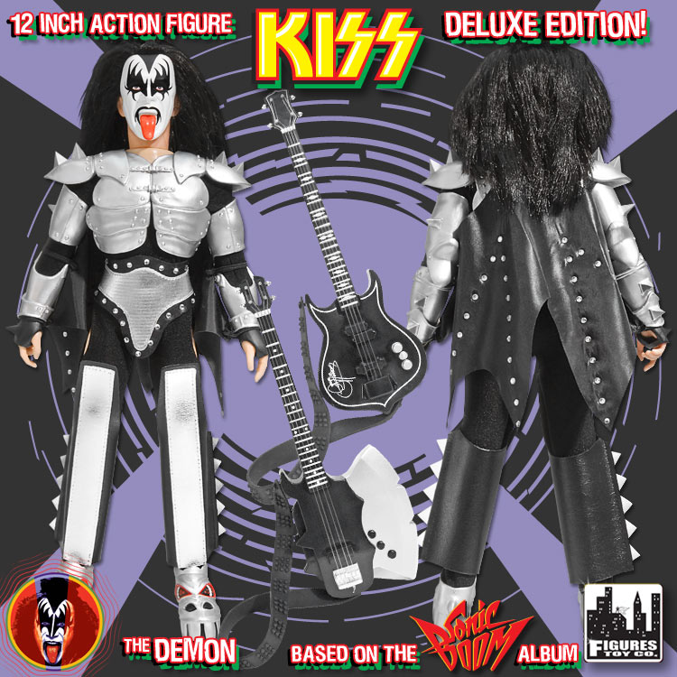 The Demon KISS 12 Inch Action Figures Series Three Sonic Boom