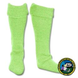 pair light green socks