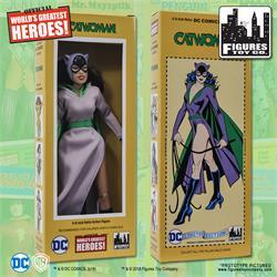 Purple Card 8 inch Action Figure on Retro Card DC Comics Batgirl
