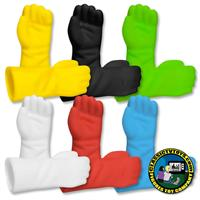 Open Fisted Molded Gloves for 8 inch figures