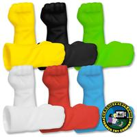 Closed Fisted Molded Gloves for 8 inch figures